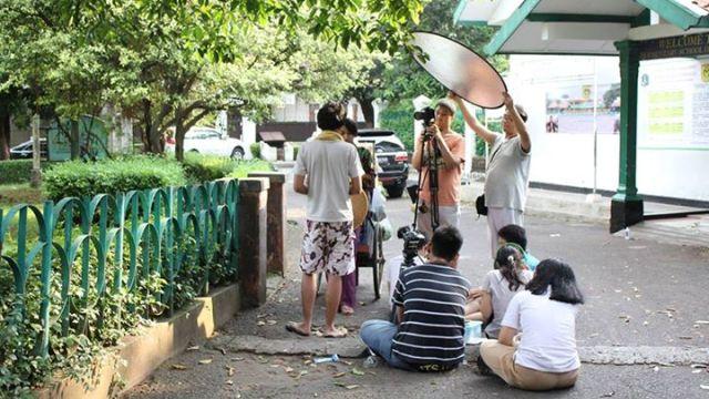 Produksi mahasiswa jurusan film Binus International