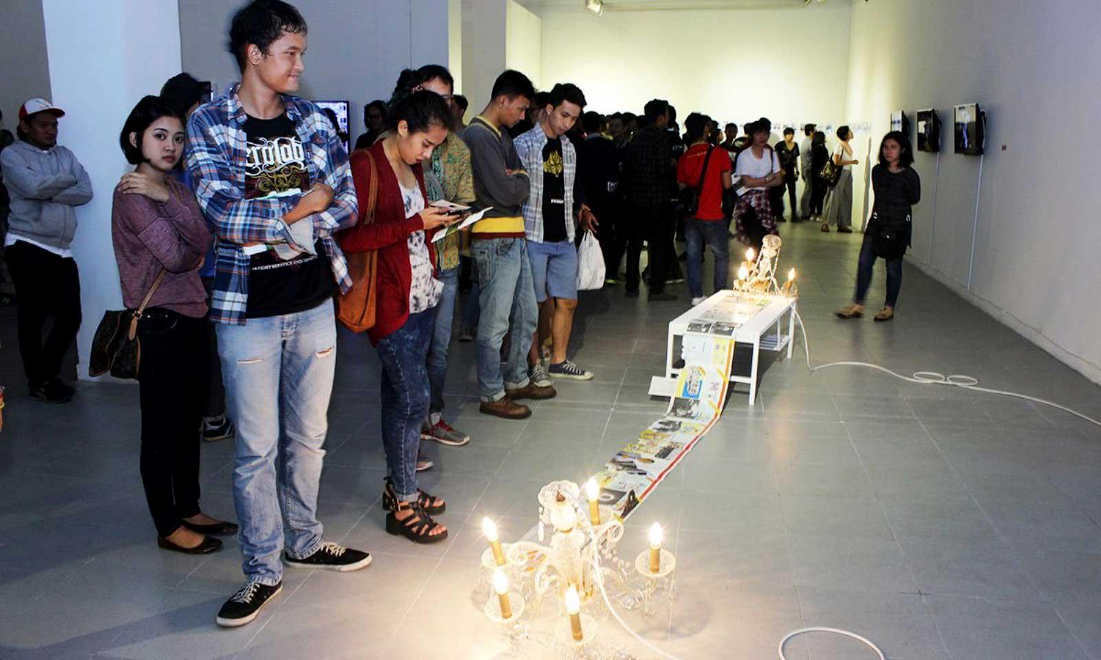 OK. Video, a bi-annual media arts festival organized by ruangrupa since 2003 in Jakarta.