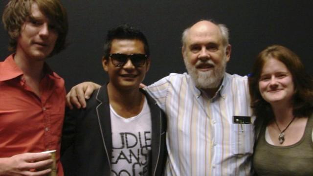 Penulis (kedua dari kiri) bersama David Bordwell (ketiga dari kiri) di Zomerfilmcollege 2011