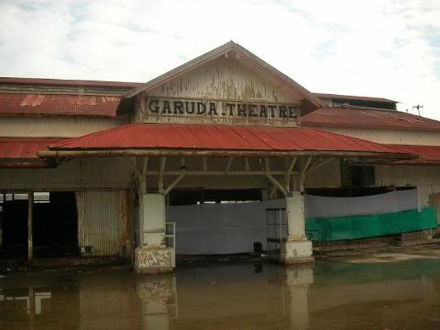 Salah satu bioskop yang sudah tutup di Aceh
