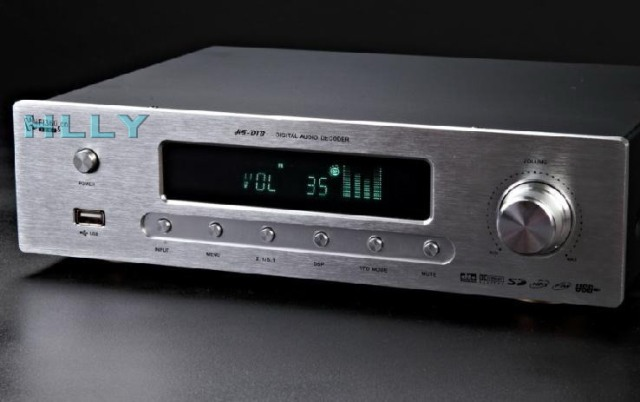 HLLY DTS AC3 5.1 Digital Audio Decoder