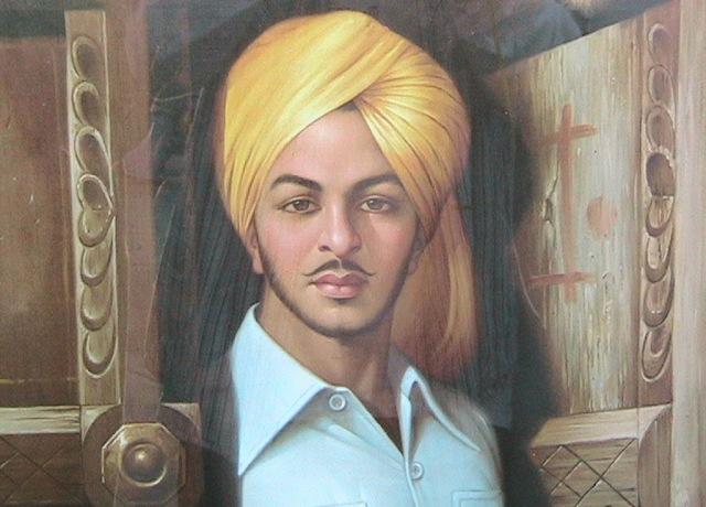 Bhagat Singh, seorang komunis anarkis, adalah tokoh yang sering difilmkan Bollywood.