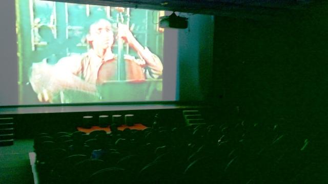 Suasana salah satu sesi pemutaran Festival Film Solo 2014