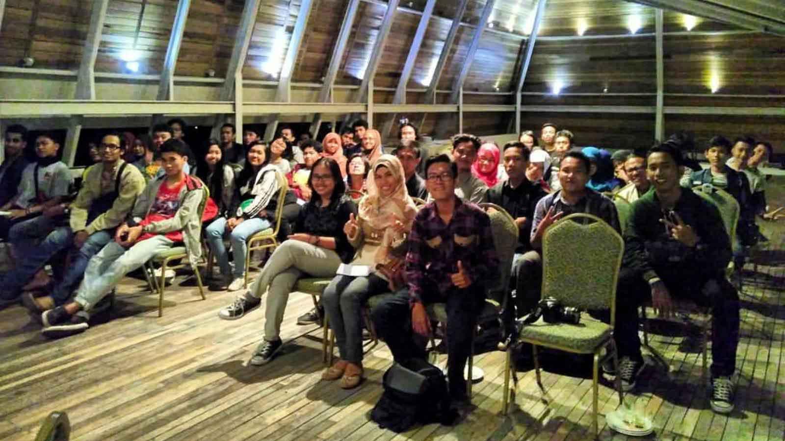 Suasana emutaran Indonesia Raja 2015 di Greenhost Hotel, Yogyakarta
