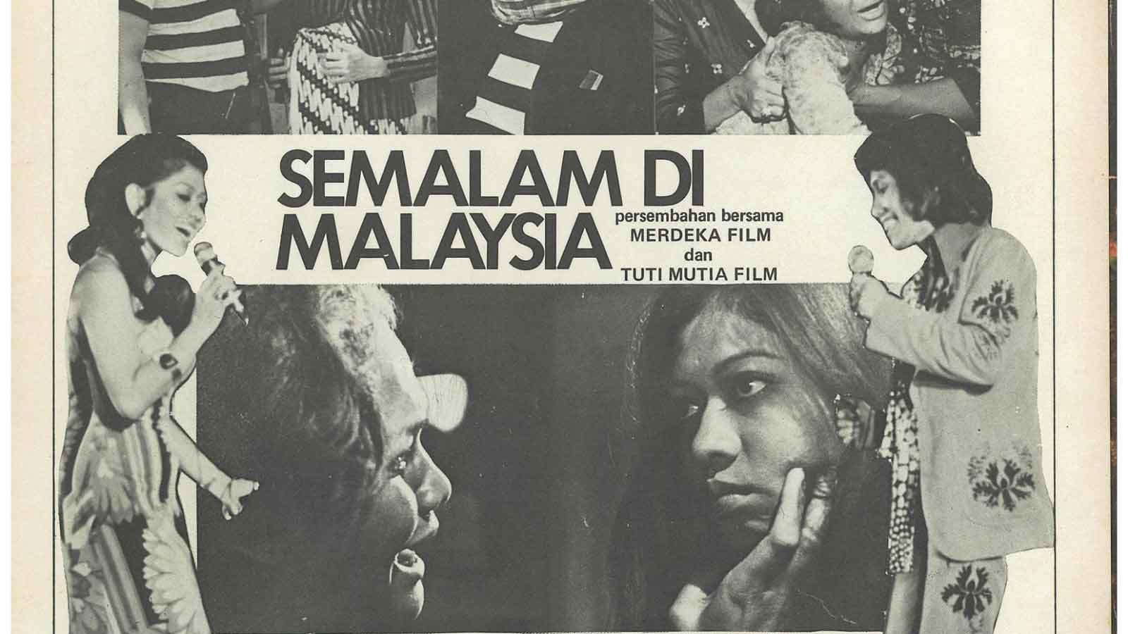 Indonesian Film Culture In 1970s And 1980s Malaysia